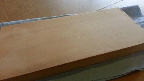 tavola di legno ammaccatura