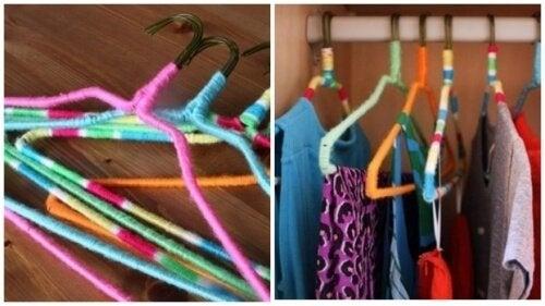 grucce colorate armadio
