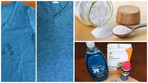 Macchie di grasso: i trucchi per eliminarle dai vestiti