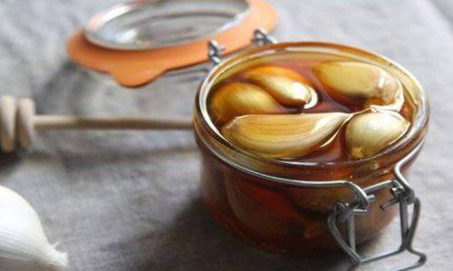 Miele all'aglio per combattere le malattie respiratorie