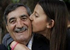 nonno e figlia infarto