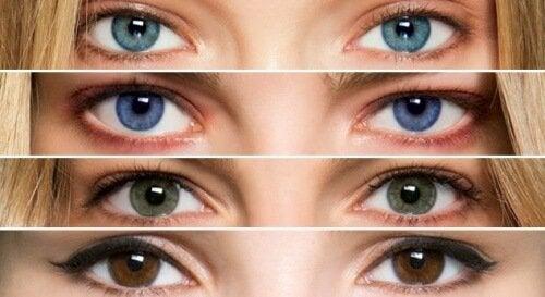 Il colore degli occhi può dare informazioni sulla salute