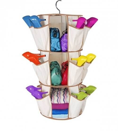 porta scarpe colorate