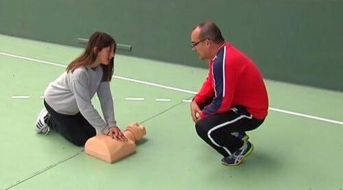 rianimazione cardiopolmonare infarto