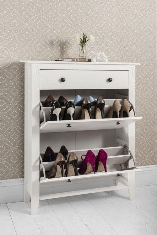 scarpiera per ordinare tutti i tipi di scarpe