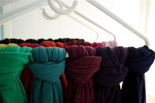 sciarpe armadio