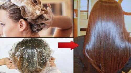 Trattamenti liscianti per capelli 100% naturali