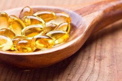 vitamina E mani secche