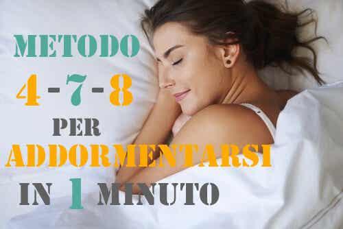 Come addormentarsi in meno di 1 minuto