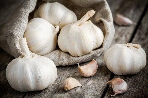 spicchi di aglio