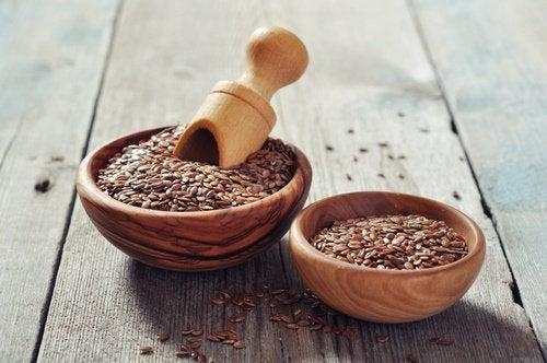 benefici-dei-semi-di-lino grasso dell'addome