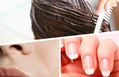 I migliori rimedi per curare pelle, unghie e capelli