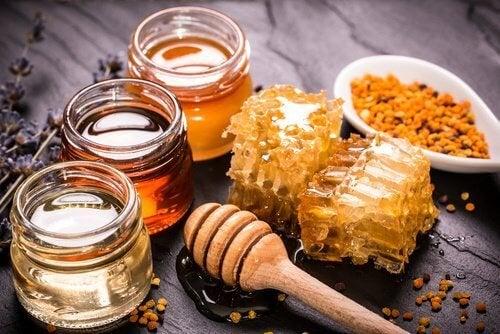 Curcuma con miele