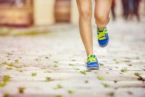 correre per cellulite delle cosce