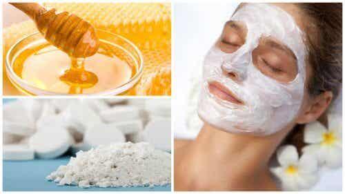 Maschera al miele e aspirina: effetti sorprendenti sul viso