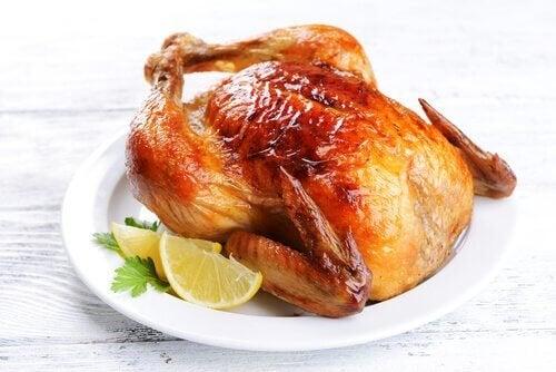 pollo tra cibi da non riscaldare