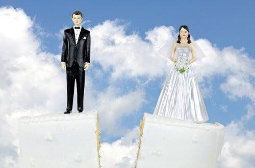4 segnali di un divorzio imminente