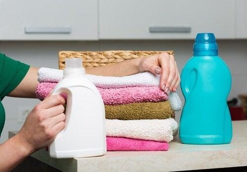 ammorbidente per gli asciugamani
