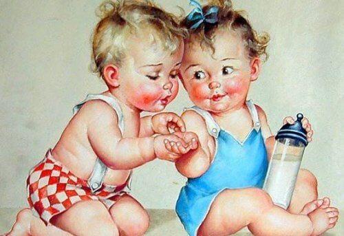 Un bambino felice è rumoroso, irrequieto, allegro e ribelle