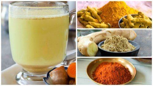 Bevanda a base di zenzero, curcuma e peperoncino di Cayenna per disintossicare il corpo