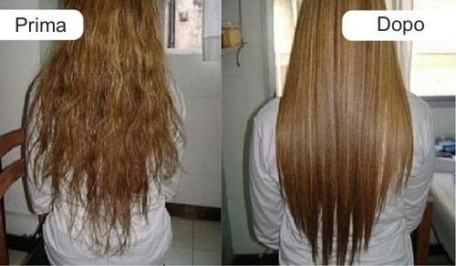 Lisciare i capelli con una crema fatta in casa