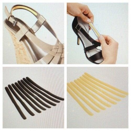 Con i cuscinetti adesivi potete evitare il mal di piedi provocato dalle scarpe