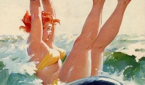 donna-che-cade-in-acqua