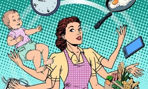 Avere un marito significa avere 7 ore in più di lavoro