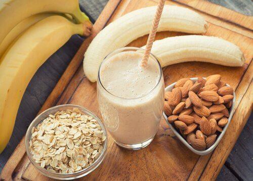 I frullati alla banana migliorano le funzioni renali