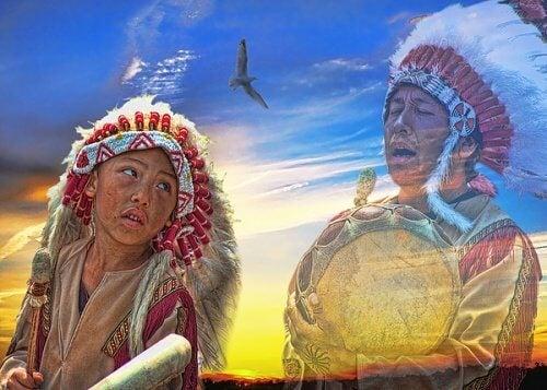 indiani lakota e la pazienza e il silenzio