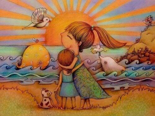 madre-insegna-alla-figlia-importanza-intelligenza-emotiva