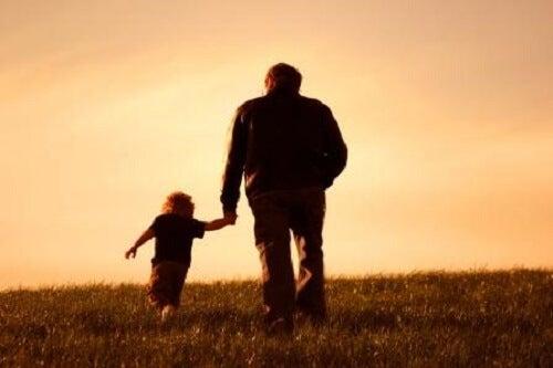 i nonni e i nipoti