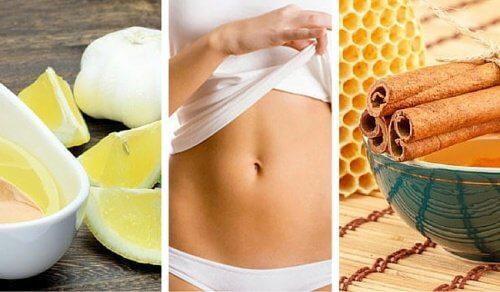 5 rimedi naturali per avere un ventre piatto