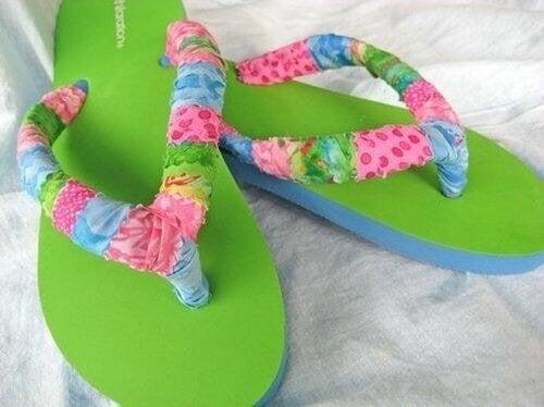 rivestimento-in-cotone scarpe
