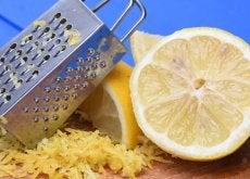 scorza di limone grattugiata