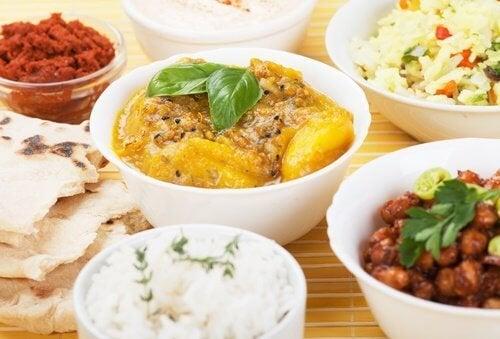 cucina indiana, ayurveda e perdita di peso