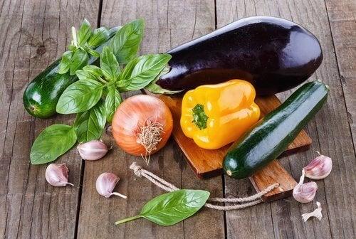 stato animo verdure