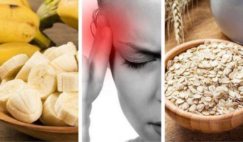 Alimenti per combattere la stanchezza e mal di testa