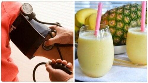 Come combattere l'ipertensione con un delizioso frullato