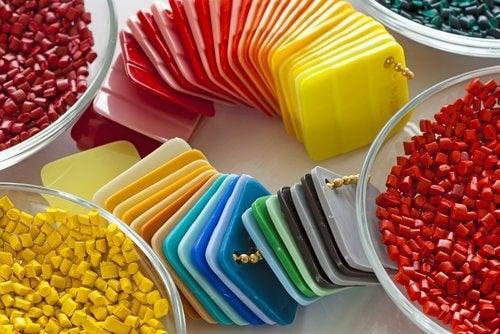 plastica colorata