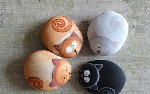 piccoli animali dipinti