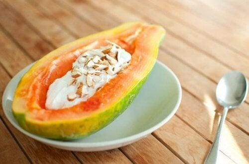 papaya-e-yogurt