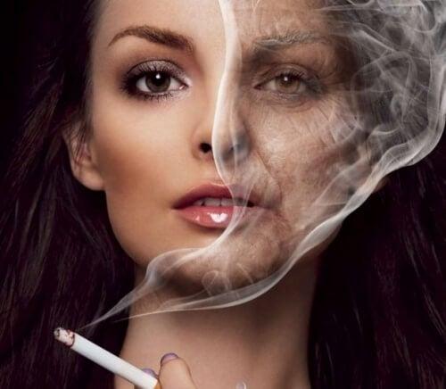 effetti-della-nicotina-sul-viso
