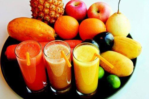 Succhi di frutta naturali