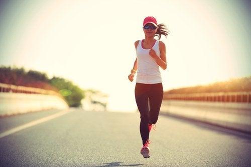 correre per strada