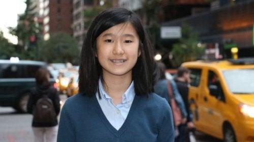 Emma Yang, 12 anni