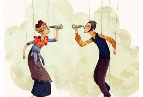 coppia che si osserva la coscienza