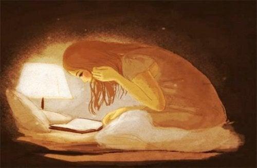 scrivere di notte