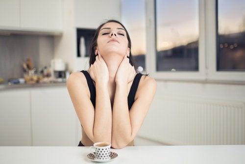 Rilassare i muscoli del collo