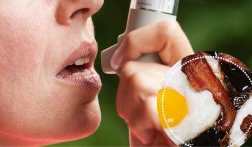 6 alimenti da evitare se si soffre d'asma